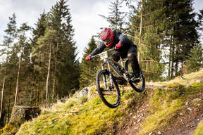 Photo of Kieron TOOLE at Ae Forest