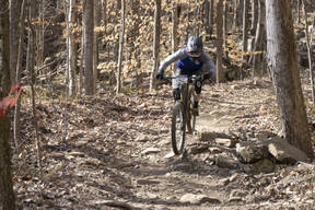 Photo of Gavin VAUGHAN at Windrock, TN
