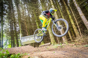 Photo of Rider lewis foul at Hamsterley