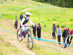Photo of Chloe WALLER at Tamarack Bike Park, ID