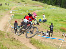 Photo of Hunter KROEPEL at Tamarack Bike Park