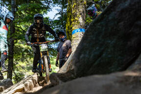 Photo of Dixie OWENS at Tamarack Bike Park, ID