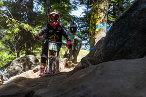 Photo of Anthony JONES (u14) at Tamarack Bike Park