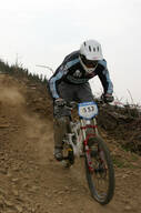 Photo of Pete DREW at Innerleithen