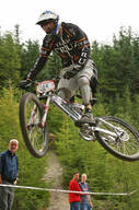 Photo of Kris HARGREAVES at Innerleithen