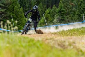 Photo of Mikel GAZTAMBIDE at Tamarack Bike Park, ID
