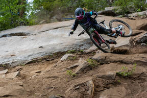 Photo of Sydney HABERMAN at Tamarack Bike Park, ID
