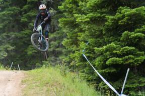 Photo of Tanner BAUGHMAN at Tamarack Bike Park, ID