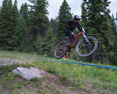 Photo of Kris BAUGHMAN at Tamarack Bike Park, ID
