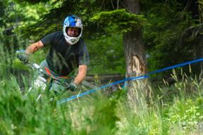 Photo of Brian ROGERS at Tamarack Bike Park