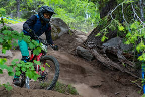 Photo of Michelle MACARTNEY at Tamarack Bike Park, ID