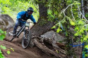 Photo of Tyler JAWORSKI at Tamarack Bike Park, ID