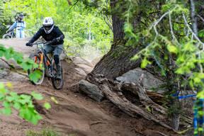 Photo of Mike TOMLINSON at Tamarack Bike Park, ID