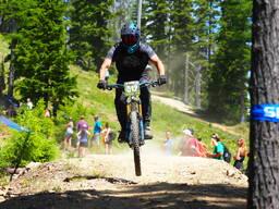 Photo of Don HUNTSMAN at Silver Mtn