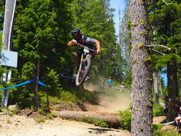 Photo of Jordan KINNISON at Silver Mtn, Kellogg, ID