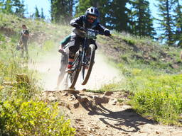 Photo of Ian DOLMSETH at Silver Mtn, Kellogg, ID