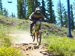 Photo of Michael DUFT at Silver Mtn