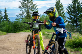 Photo of Clive LARIVIERE at Tamarack Bike Park