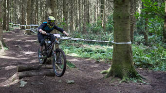 Photo of Alan NEVIN at Bigwood, Co. Down