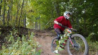 Photo of Rider 346 at Powder Ridge, CT