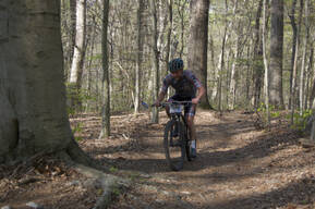 Photo of an untagged rider at Fair Hill, MD