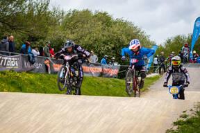 Photo of Davis, Harmer, Hebden at Bournemouth BMX
