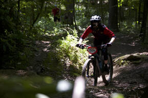Photo of an untagged rider at Glen Park, PA