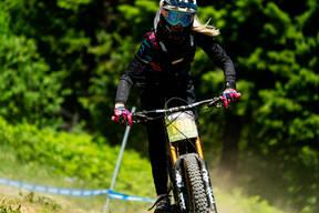 Photo of an untagged rider at Tamarack Bike Park, ID