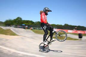 Photo of Elle JUNKER at Gosport BMX