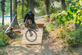 Photo of Wood SKINNER at Whitefish Mountain Resort, MT