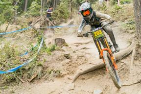 Photo of Logan ARTHURS at Whitefish Mountain Resort, MT