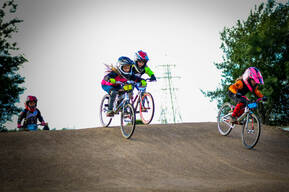 Photo of Sophie, Holly at Mid Lancs BMX