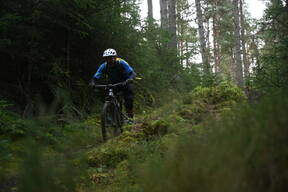 Photo of Corrie HILLOCK at Scolty Hill