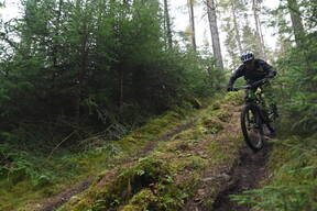 Photo of an untagged rider at Scolty Hill