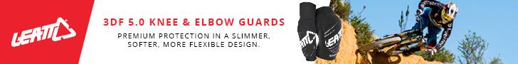 Leatt 3DF 5.0 knee & elbow guards
